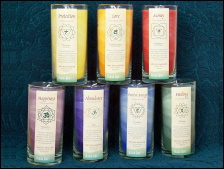 Picture of Chakra Candles