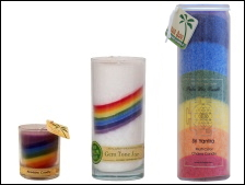 Picture of Rainbow Candles