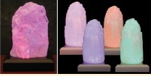 Photo of LED Color Change Crystal Lamps