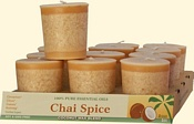 Chai Spice Coconut Votives