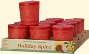 Holiday Spice Coconut Votives