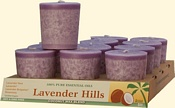 Lavender Hills Coconut Votives