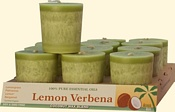 Lemon Verbena Coconut Votives