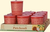 Patchouli Coconut Votives