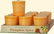 Pumpkin Spice Coconut Votives