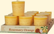 Rosemary Orange Coconut Votives