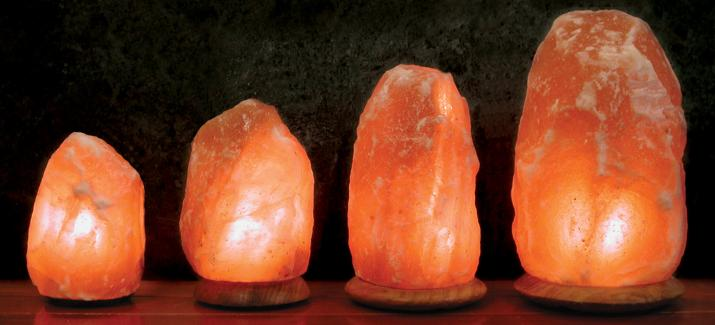 Salt Rock Lamp Real Or Fake : Himalayan Salt Lamps and Parts - Aloha Bay